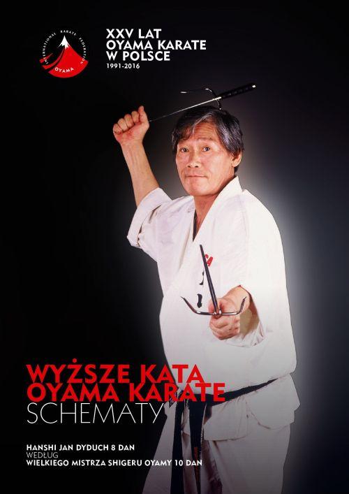 Wyższe Kata Oyama Karate. Schematy